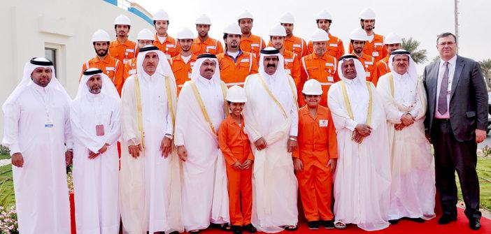 HH The Emir inaugurates QAPCO's 3rd LDPE plant